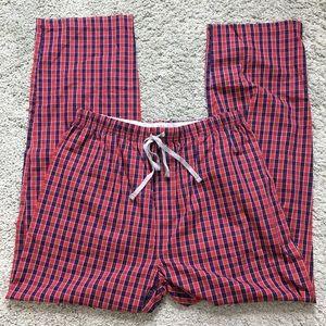 NWOT Michael Kors Men's Checkered Pajama Bottoms L